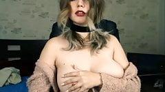 Amazing tits webcam girl