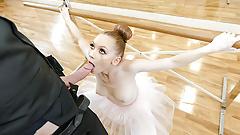 GingerPatch- Ginger Ballerina Athena Rayne Fucks Dance Judge
