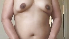Chubby Asian Wife Riding the Cock Fucking Hard