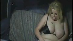 Look what this horny Chubby BBW slut does in a taxi-4