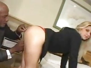 Big male cock clips - Yet another white woman fucked by a black male