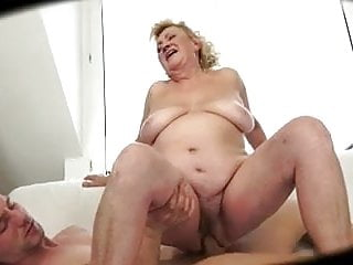 Ugly bisexual Ugly mom with flabby body tits guy