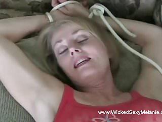 Sonja red pornstar and grandma - Sexy grandma in red