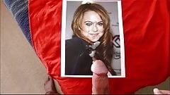 Lindsay Lohan Cum Tribute 1