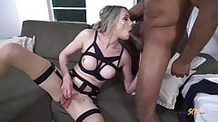 Maria Gets Her TS Ass Rammed with BBC