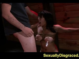 Sex lies video Bound tightly and punished hard mia li squirms in pain