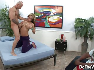 Milfs getting fucked by black guys Hot wife gets fucked by a white guy in front of her black hu