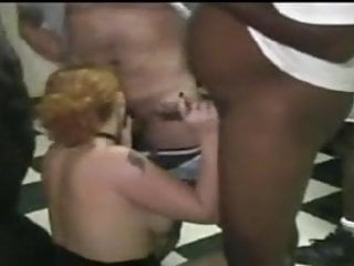 Doggystyle adult anime - Wife in adult theater banging black guys part 2