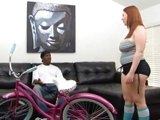 Red head lesbian vids Red head pawg gets pounded by long black cock