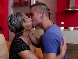Tea laoni nude - Granny takes young cock after tea