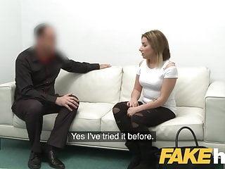First taste of pussy Fake agent - amateur model gets her first taste of casting