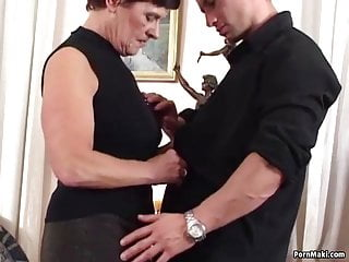 Too young tits video - German granny is not too old for fucking