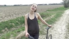 Athletic German Beauty Gets Fucked Outdoors!