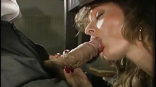 Licking Penis Under The Table