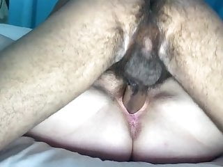 Friction unprotected sex White mother fucks younger black boy unprotected creampie
