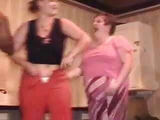 303 british stripper clip Milf joins the stripper on stage