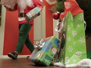 Santas naughty girl tits - Vanessa cage is naughty santas helper