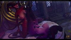 Juicy Thighs (Janner3D Futanari)