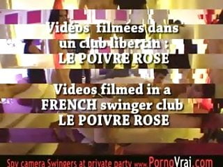 Private club bukkake French swingers party in a private club part2