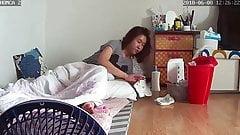 asian ipcam masturbation