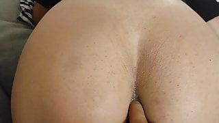 First attempt to deflower LaMenor, ass fucked and cumshot on