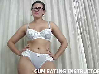 Porn tuve you jizz You will become addicted to swallowing jizz cei