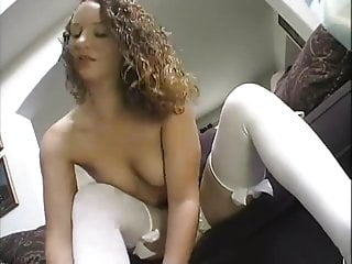 Skinny curvy girl fuck - Horny curvy girl fucks anal and get pussy creampied
