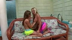Anal penetration for two hot young girls
