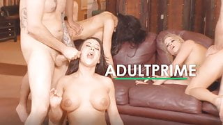 25x Group Sex Games with Cumshots at AdultPrime