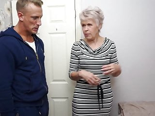 Amazing sex features Granny gets amazing sex with strong young boy