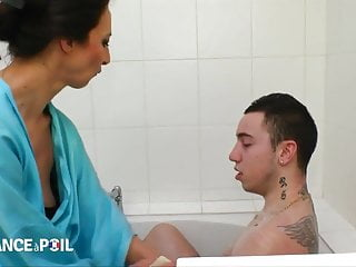 Girls in the bath fucking - Fucking mrs marcel in the ass in the bath