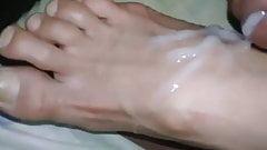 Los pies de mi mujer con corrida