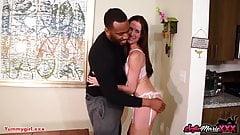 SofieMarieXXX - MILF Beauty Sofie Marie Blows Big Black Cock