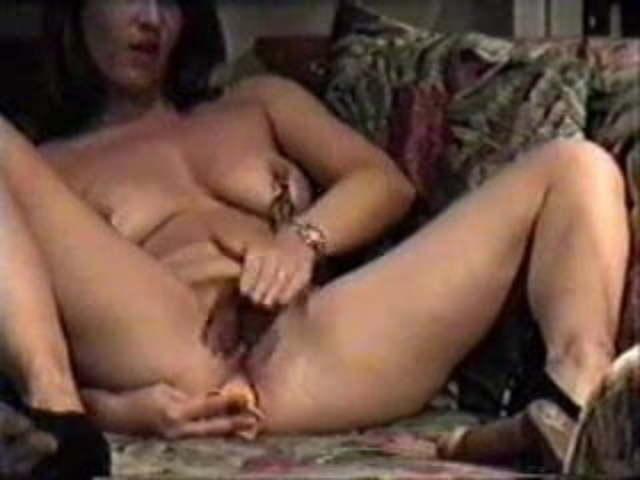 Hidden Cam In Livingroom Milf Clamps On Nipples