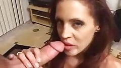 Huge load gargle and swallow!