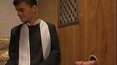 Roman Catholic priest forgives perverted sinner
