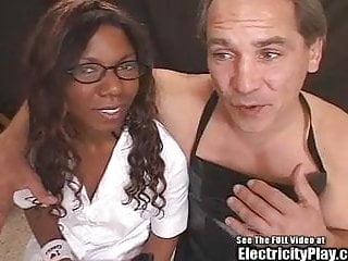 Fuck hot black chick - Hot black chick assistant to psycho bdsm