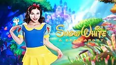 Natural Babe Diana Grace As SNOW WHITE Is All Wet For You