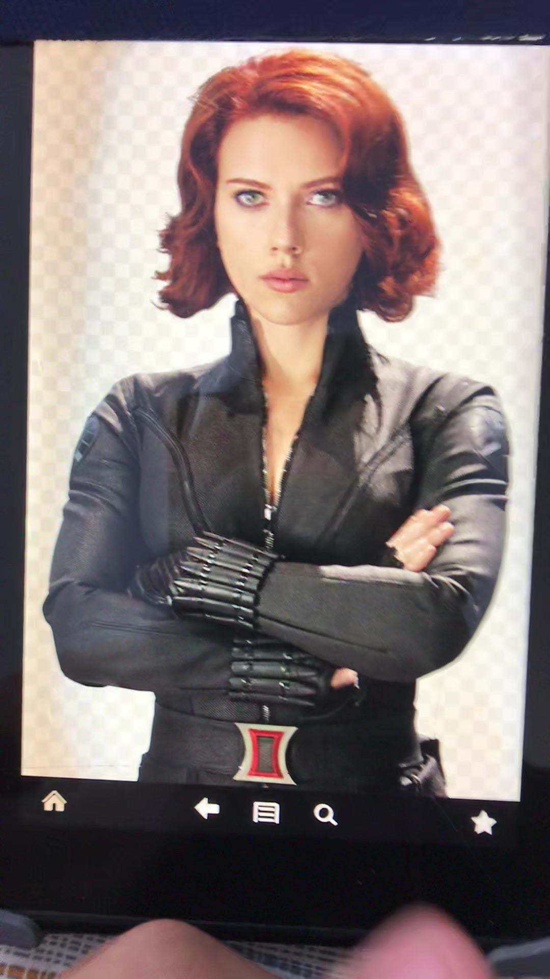 Black Widow Cum Tribute