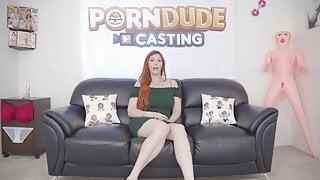Big boobed redhead MILF Lauren Phillips gets all holes