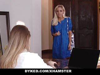Femdom dyke Dyked - hot lesbian boss scissors hot teen