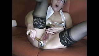 My hot holes worked! Anal, cunt, German