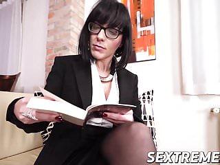 Pussy banged doggystyle Amazing brunette babe gets pussy banged doggystyle