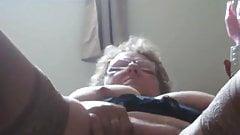 Granny Masturbating 1