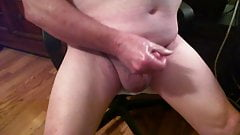 Jacking Off with Cum
