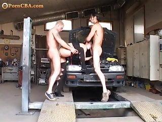 Sexy miltf - Horny miltf gets double ass fixed
