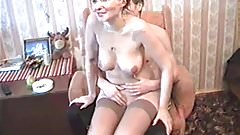 Russian mommy Nelly love young guys