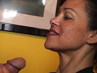 Long thick cock gay Sexy milf sucking a thick cock long vers.