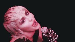 Miley Cyrus: Cum Queen - Porn Music Video