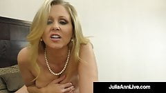 Big Boobed Cougar Julia Ann Takes A Load Of Cum In Her Mouth